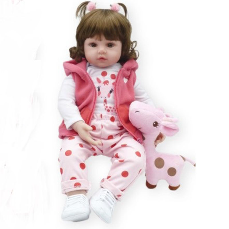 Newborn reborn <strong>doll</strong> soft silicone baby reborn <strong>dolls</strong> for christmas surprise gifts