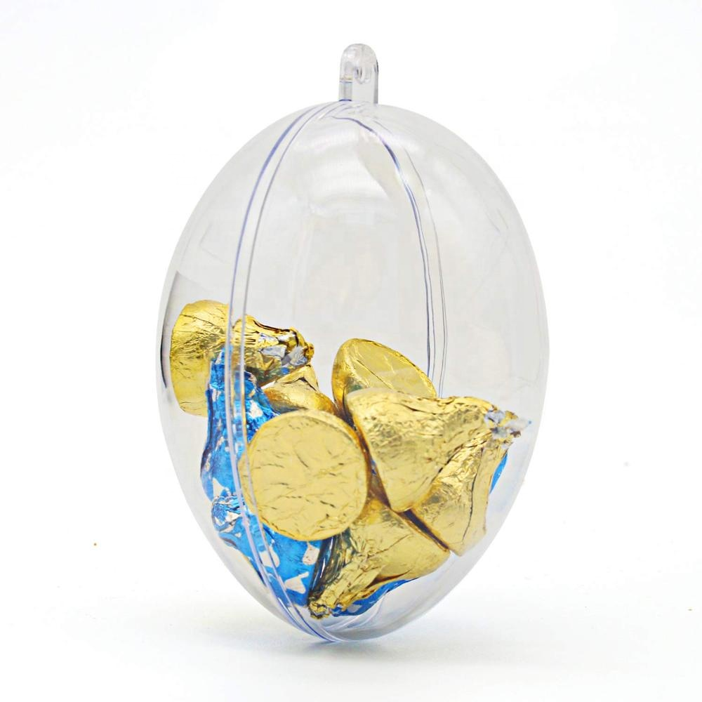 Nieuw Fasionbale Design Ornament Clear Easter Egg Plastic Egg