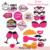 Yiwu Bridal Shower Party Decorations Same Penis Forever Banner Straw Engagement Ring Balloon Tattoos Kit Bachelorette Party Supp