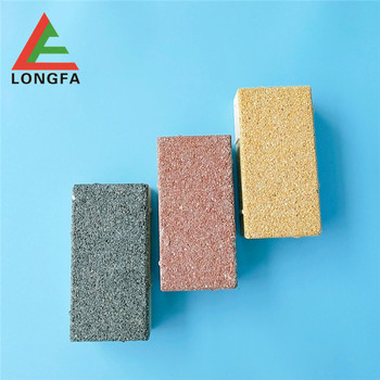 Eco water permeable ceramic brick for road