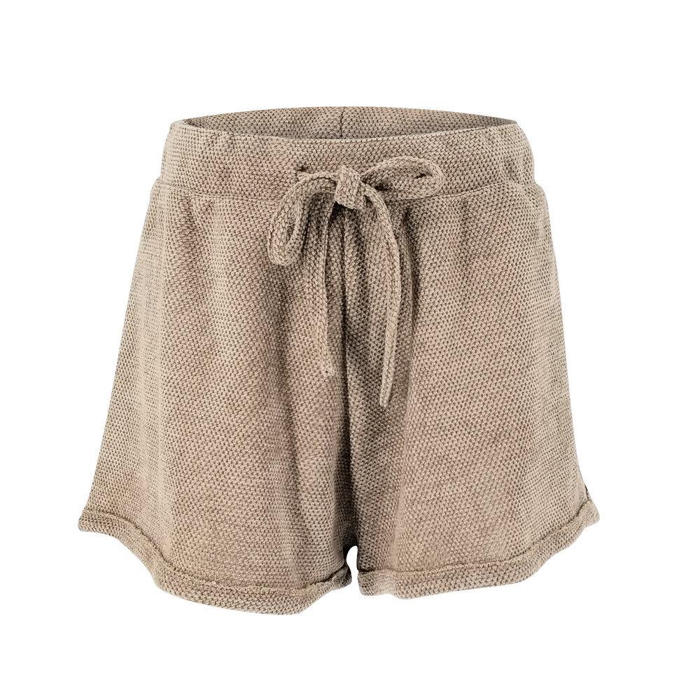 6c1a72dee3 APR55 pantalones cortos de las mujeres casuales pantalones cortos de  cintura alta de ancho de la