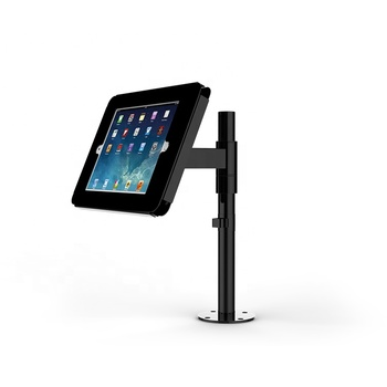 Mihler counter top flexible Pole tablet stand height Adjustable tablet stand with multi-dunctional arms