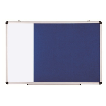 Office Home Used Wall Mounted Aluminium Frame Cork Fabric Felt Pin Bulletin Boards