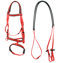Paardensport Paardrijden Apparatuur Bridles, <span class=keywords><strong>PVC</strong></span> <span class=keywords><strong>Paard</strong></span> <span class=keywords><strong>Hoofdstel</strong></span> Levert Met Rein
