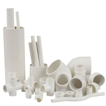 PVC plastic pipe fittings