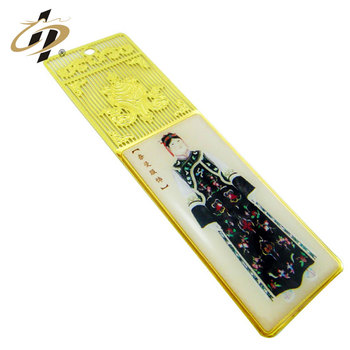 Wholesale Custom gold Metal Bookmark for books with your logo