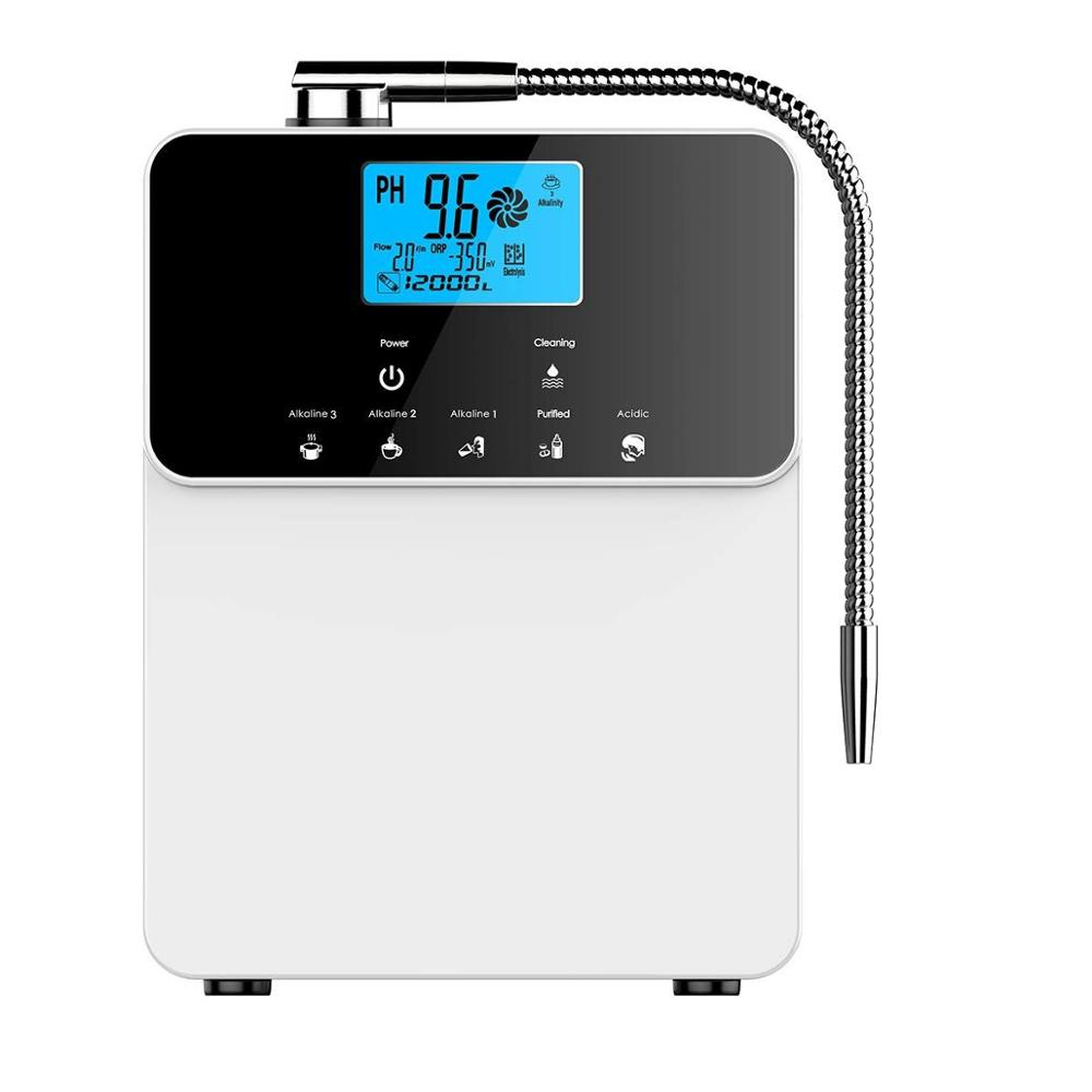 Self cleaning SMPS 210W 11 plates larger titanium with platinum coated plate kangen <strong>water</strong> machine alkaline <strong>water</strong> ionizer OEM