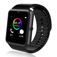 2019 New Waterproof gt08 android sport relojes inteligentes bluetooth smart watch gt08 with sim GPS