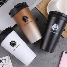 16 Oz <span class=keywords><strong>Kopi</strong></span> Stainless Steel Tumbler Double Wall Isolasi Air Mug <span class=keywords><strong>Mobil</strong></span> <span class=keywords><strong>Cangkir</strong></span>
