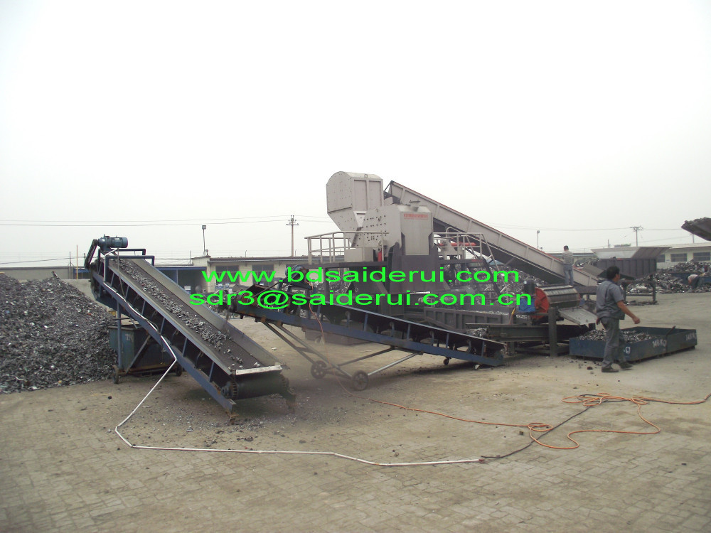 China Metal Shredder Manufacturer For Cans/scrap Steel/iron/car ...