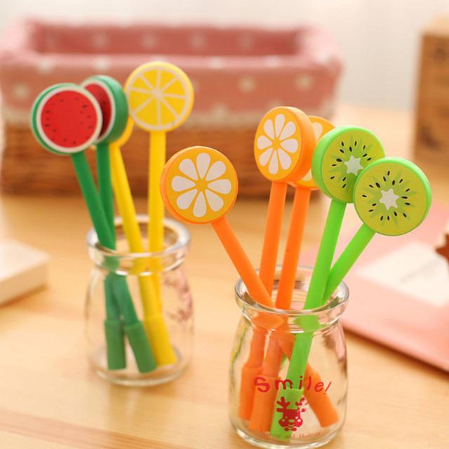 Fruit Baby cartoon gel pens