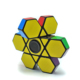 2019 newest ABS material high speed stress relief fidget spinner cube