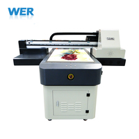 Hot selling A1 uv 3d printer for pvc card, pen, acrylic, glass prints uv led printer