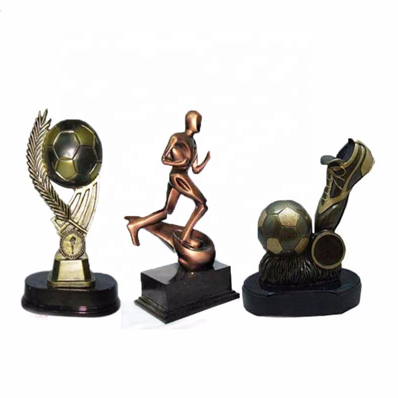 High quality polyresin sports trophy resin trophy plastic sports trophies for sale