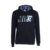 cheap wholesale cotton fleece custom print pullover streetwear black hoodie