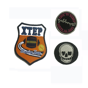 High Quality Hand Embroidered Bullion Badges military Pocket Patch/Bullion Wire Blazer Badges