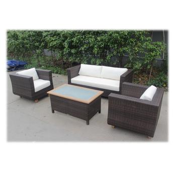 442e17f123 Garden furniture Poland modern garden furniture sofa set with teak wood top