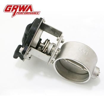 GRWA High Quality Popular Muffler Remote Control Electric Exhaust Cutout Valve