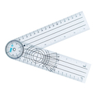 Medical Transparent Protractor Making Plastic Scale Ruler With High Quality Goniometer