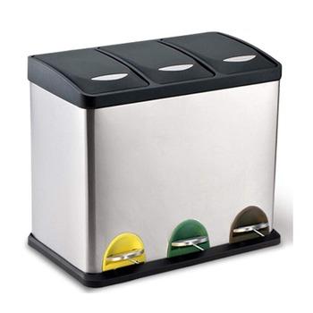 Amazon Best Selling Kitchen Use Stainless Steel Recycle Bin Household  Recycle Trash Bin - Buy Recycle Bin,Recycle Cans Bin,Stainless Steel  Recycling ...