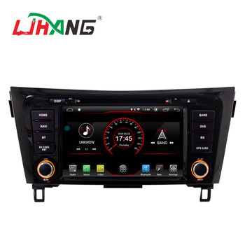 double din android9.1 quad core car dvd player for Nissan qashqai 201 car navigation japanese support radio