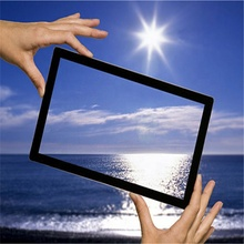 2mm LCD of LED TV screen coating anti reflecterende <span class=keywords><strong>glas</strong></span>