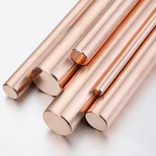 Good wear resistance High intensity Chromium copper/cucrzr copper alloy (C18400 etc) bar For Hardware, electrical connectors