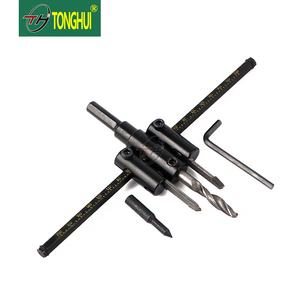Black Or Customized Plane Type Drill Bit Mounted On 10mm Electric Drill