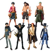 Custom making PVC anime one piece figure collection model toys for gifts decoration