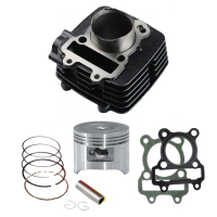 High Quality Custom Aluminum Alloy TVS100 / TVS STAR Motorcycle Cylinder Block Kit For TVS 100 Motorcycle