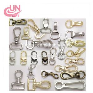 2pcs Metal Swivel Lobster Clasps Clips Snap Hook Bag Crafts Stuffs