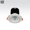GOF High Quality High Power Adjustable Embedded System led cob downlight led spotlight