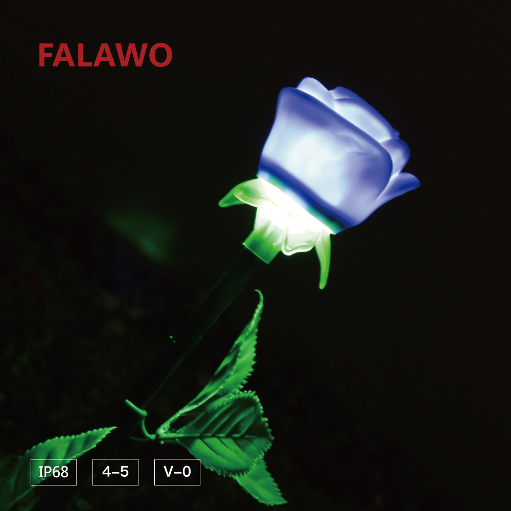 Falawo outdoor waterproof IP68 decoration festival RGB rose LED Christmas light