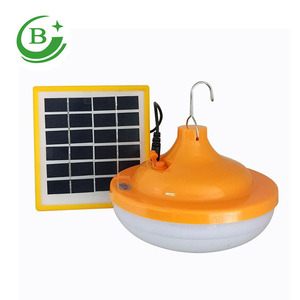 Portable Solar Powered panel Light Bulb LED Lamp Camping Usage Energy  saving 20w solar LED bulb