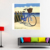 Bicycle micro spray painting decorative living room poster art work canvas Printing Custom Art Painting