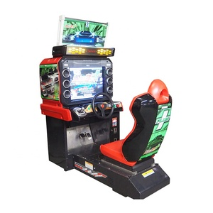 Coin Operated Midnight Maximum Tune 3Dx Car Racing Video Machine For  Amusement