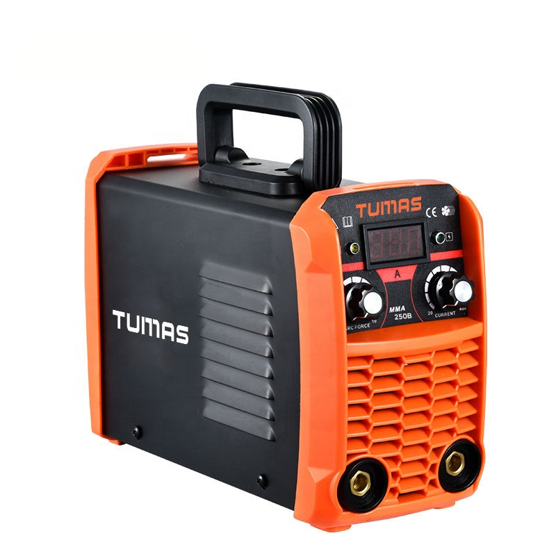 TUMAS mma 250 inverter lasmachine booglassen Levert Direct online verkoop