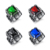 Wholesale Titanium Steel Jewelry Ring, Imitation Jewel Bijou Gemstone Stones Men Ring, Color Man Stainless Steel Finger Rings