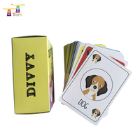 Toys For New 2019 International Education Oem 4 Colors Printing Math Kids Learning Card Flash Cards Set