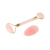 Crystal Jade Roller Massager Facial Tools Rose Quartz Face Roller Guasha set with Eye Guasha