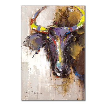 Buffalo painting color inkjet porch living room home goods wall art large  canvas wall art painting