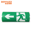 Double Sided Led 12v Emergency Light And Green Metal Exit Sign