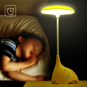 color changing sleep funny little elephant lamp animal cartoon led night light for kids with touch sensor