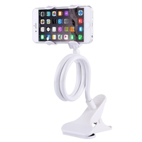 Cheap price Universal Flexible Long Arm Lazy Bracket Desktop Headboard Bedside Car Phone Holder Stand Tablet Mount(White)