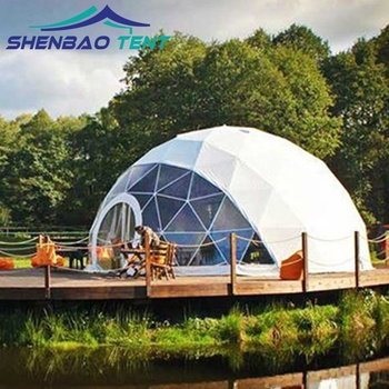 New Design Diversified Combination Dome Tents With Pvc Frame For Event