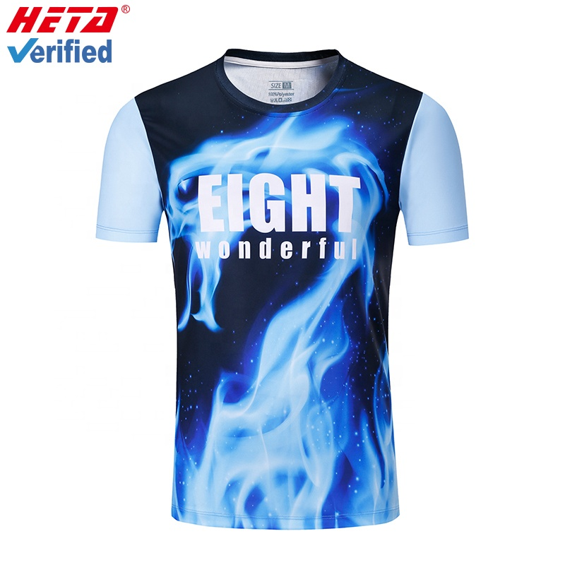 13 years experience manufacturer new model oem custom design 3d printing dri fit polyester t <strong>shirt</strong>