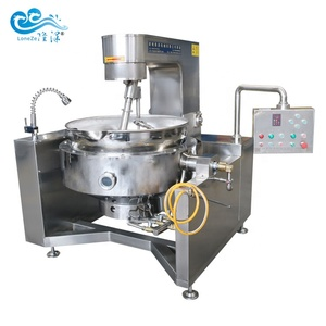 Gas or electric induction cooking mixer machine cooking equipment for jams sauce sugar