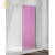 Premium tempered glass colored shower screen frameless easy clean Wet room pink color fixed glass shower panel