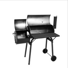 2019 Outdoor zware Commerciële Draagbare Offest Houtskool <span class=keywords><strong>BBQ</strong></span> Grill <span class=keywords><strong>Roker</strong></span>