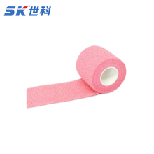 5cm*4.5m <span class=keywords><strong>hồng</strong></span> y tế thể thao bọc <span class=keywords><strong>băng</strong></span> bông gắn kết <span class=keywords><strong>băng</strong></span> chân